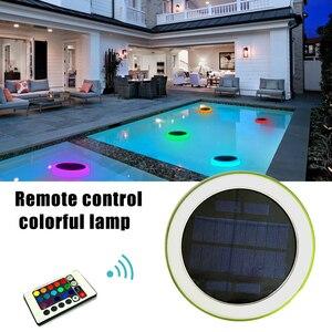 Fashion Amphibious Solar Lights Outdoor LED Waterproof Lamp for Yard Garden Driveway Swimming Pool Decor GK99