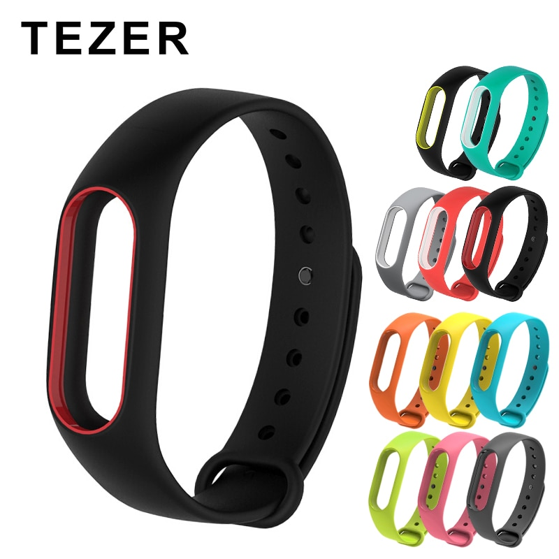 For Mi Band 2 Strap Replacement Bracelet For Xiaomi Band 2 Print Silicone Universal Wristband Colorf
