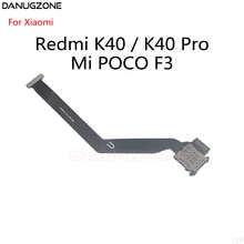 10PCS/Lot For Xiaomi Redmi K40 / K40 Pro / POCO F3 SIM Card Holder Tray Slot Reader Socket Flex Cable