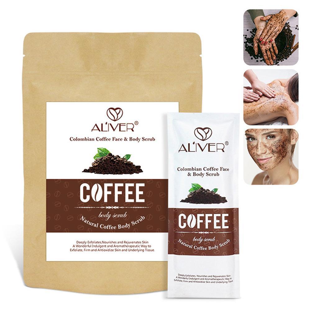 Coffee Scrub Body Scrub Cream Dead Sea Salt For Exfoliating Acne Cellulite Whitening Treatment Anti Moisturizing D7E0 недорого