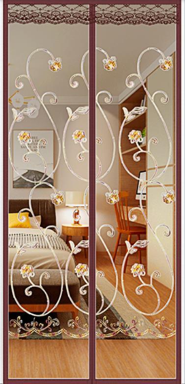 Mosquitera de alta gama para ventana, pantalla autoadhesiva para puerta, verano, nueva