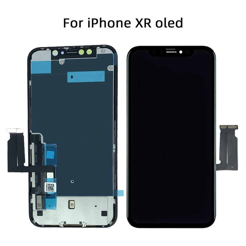 AAA+++ OLED For iPhone X XR XS Max LCD Display Screen Replacement For iPhone 11 Pro Max  With 3D Touch Assembly enlarge