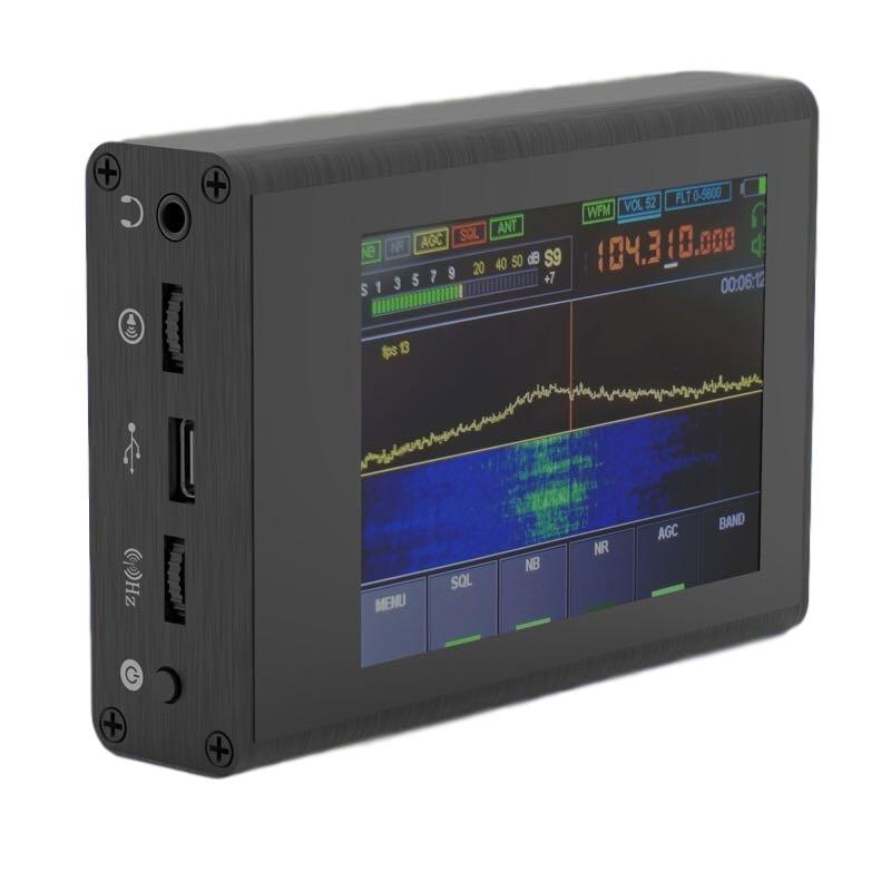 50KHz-200MHz malaquita SDR Radio Malahit DSP 3,5 pulgadas pantalla táctil DSP SDR HAM receptor transceptor