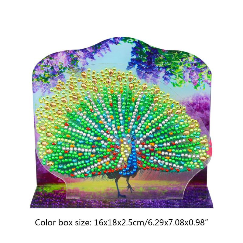 peacock New 5D Diamond Painting Cross Stitch DIY Embroidery Round Beads