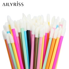 Disposable Lip Brushes 5/50pcs Eyelash Cleaning Makeup Removing Tools Lipstick Lip Gloss Mascara Wan