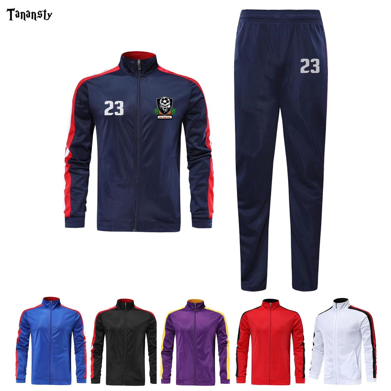 Conjunto De chaqueta De chándal De baloncesto para adultos, conjuntos De entrenamiento, Invierno 2019, uniforme De fútbol para mujeres, Kit De fútbol para adolescentes