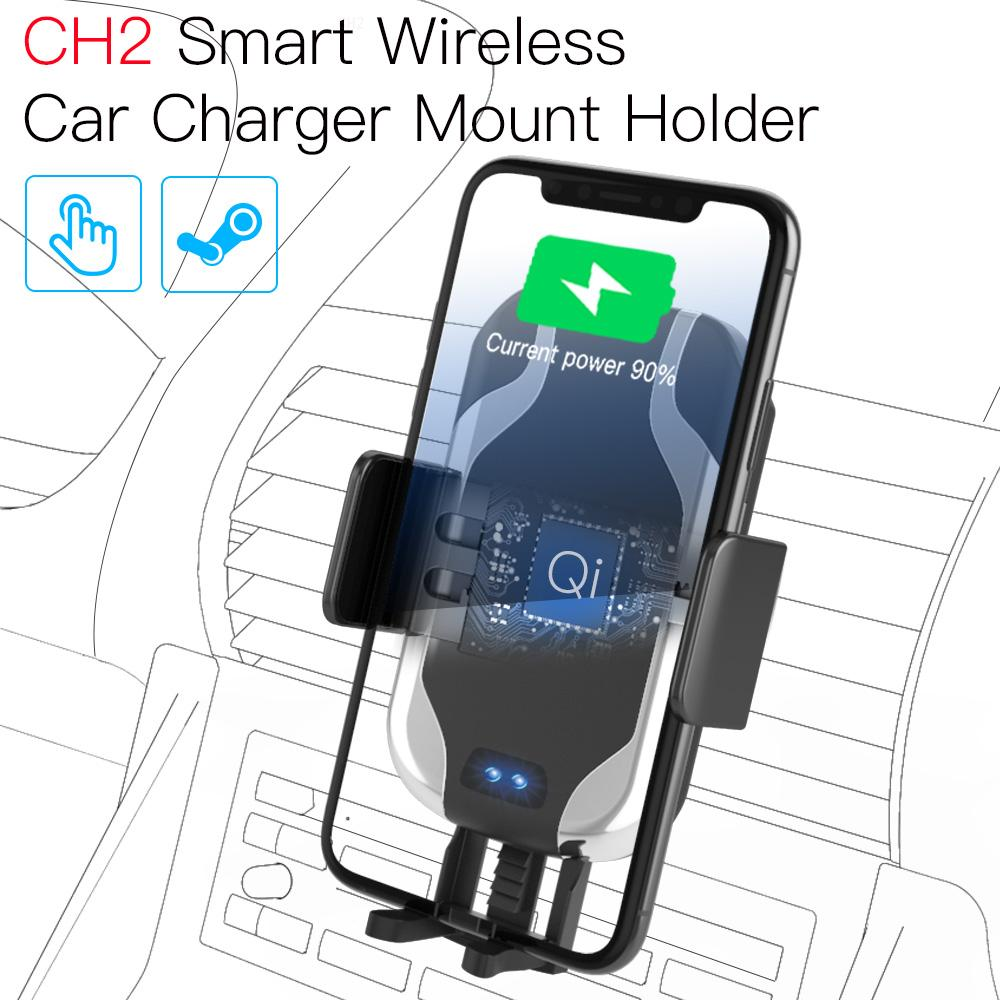 JAKCOM CH2 Smart Wireless Car Charger Mount Holder Best gift with type c charger galaxy s8 10 pro adapter solar
