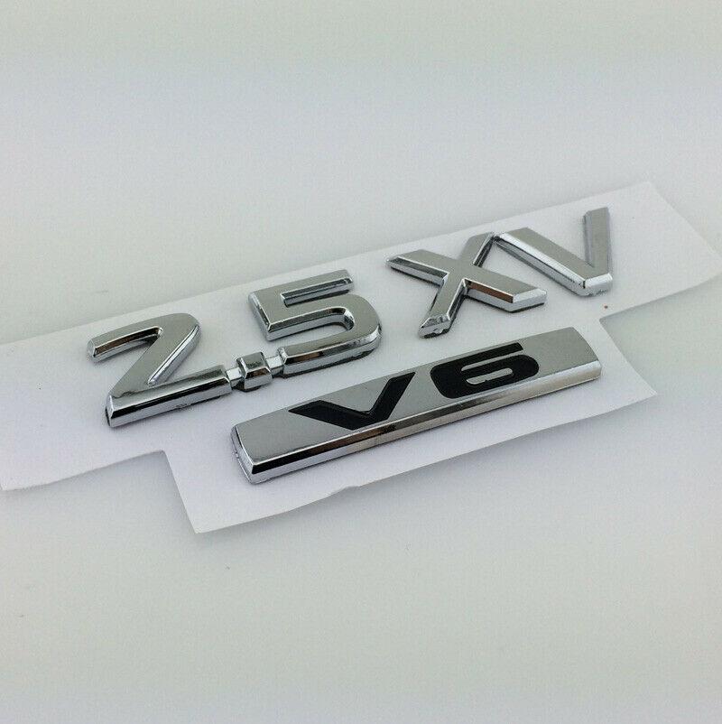 Хром ABS 2,5 XL V6 Автомобильный багажник Задняя VIP Эмблема значок наклейки
