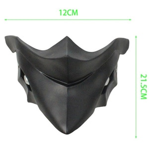 Anime Tokyo Ghoul Kirishima Ayato Cospaly Mask FRP Resin Cospaly Prop Collectible Halloween Party Accessories Gift for Men