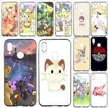 Coque de téléphone souple en silicone pour Huawei P8 P9 P10 P20 P30 Mate 10 Pro Honor 7A 8X9 10 Lite 2017 coque de poche monstres Pokemons