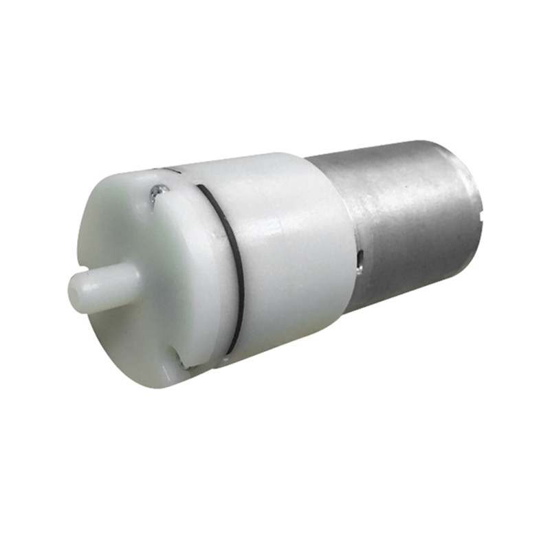 Bomba de oxígeno de presión arterial ajustable 3-12V 65A bomba de aire de acuario con accesorios para pecera