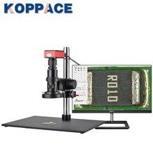 Le Microscope de mesure KOPPACE 20X-200X 2K HD peut prendre des photos et des vidéos pour enregistrer le Microscope électronique de mesure de Table