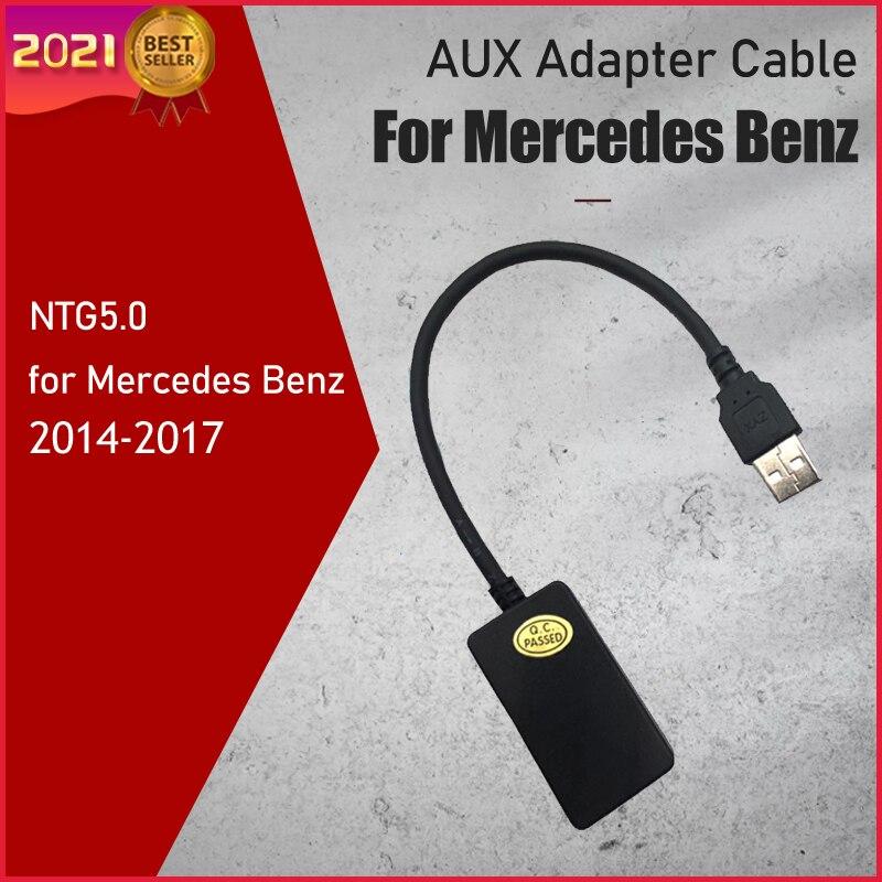 1Pcs Aux Adapter Kabel Voor Mercedes Benz NTG5.0 Aux Aduio Ingang