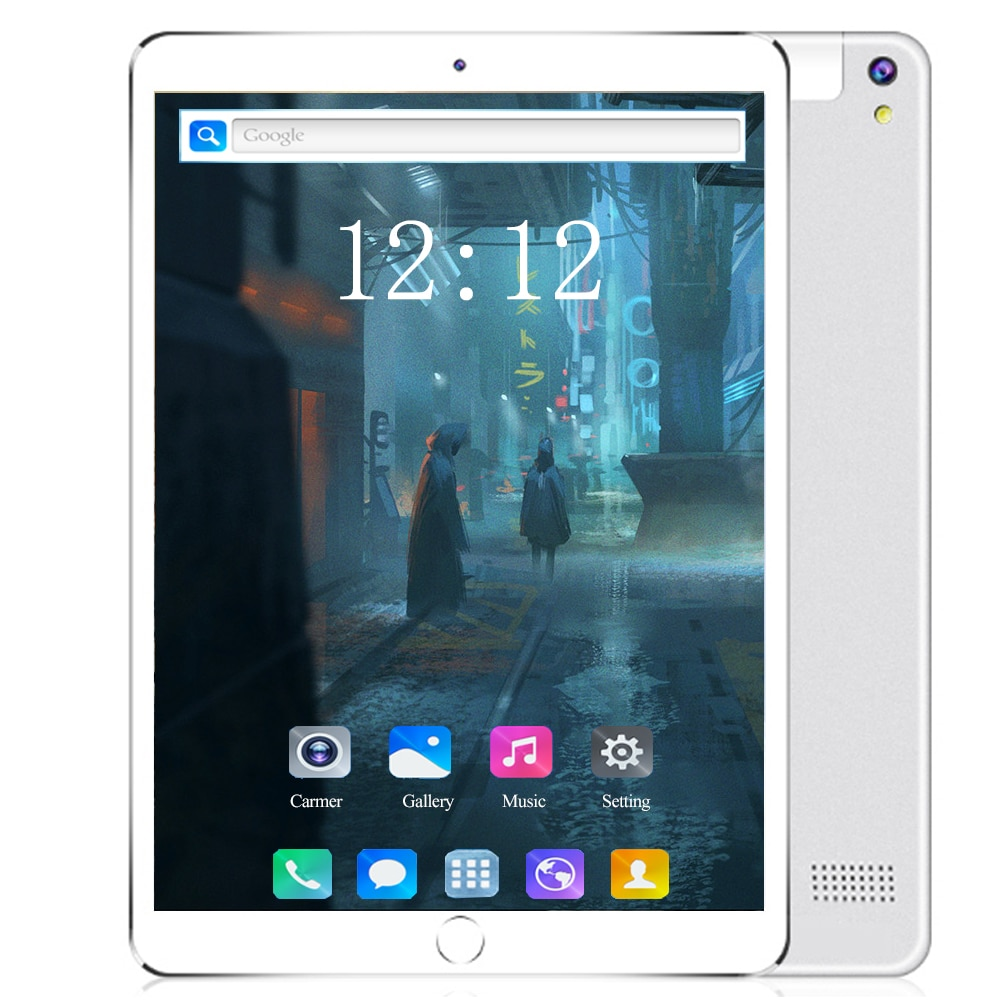 10 inch Tablet PC 6+128GB Android 8.0 Google store 10 core 1920*1200 IPS Dual SIM card 4G Phone call Android WIFI tablets 10