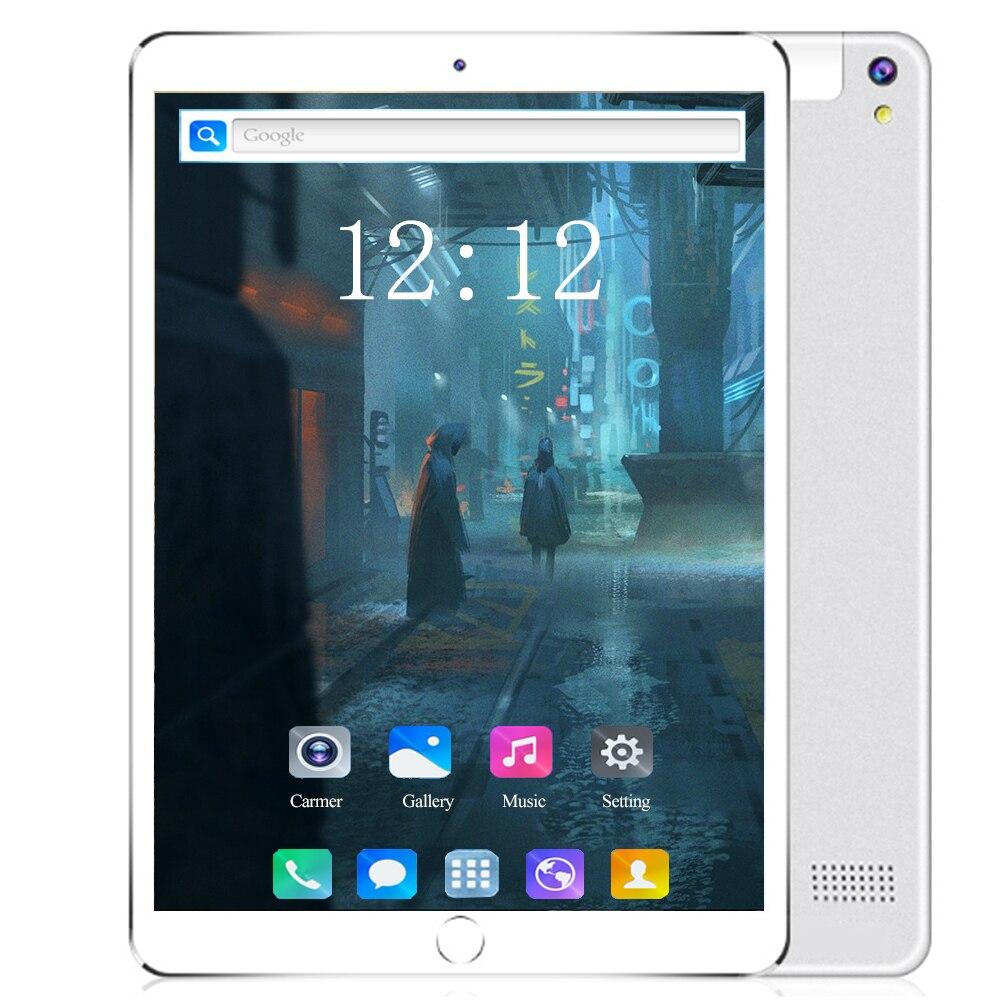10 дюймов планшетный ПК 6 + 128 ГБ Android 8,0 Google store 10 ядер 1920*1200 ips две sim-карты 4G телефонные звонки Android wifi планшеты 10,1