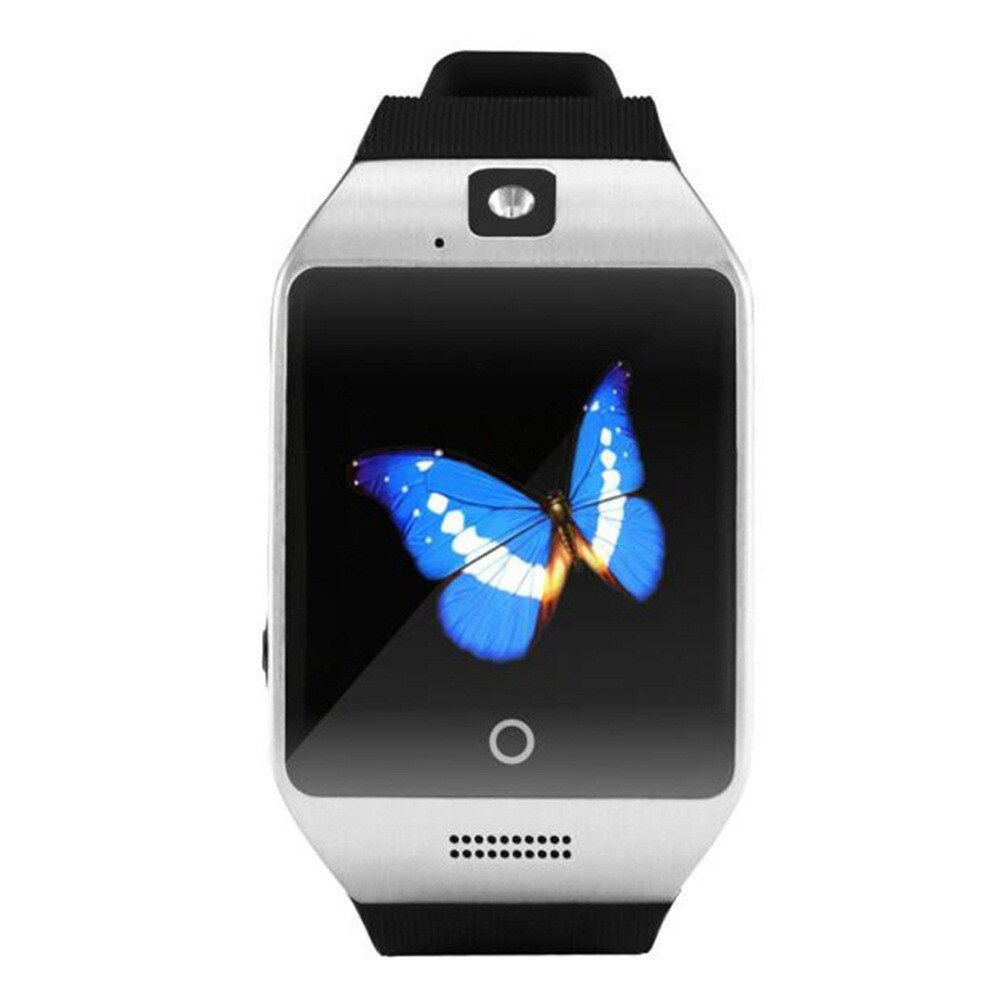 2019 Q18 Bluetoth Смарт часы GSM камера TF карта телефон наручные часы для телефона Android электронные наручные часы умные часы