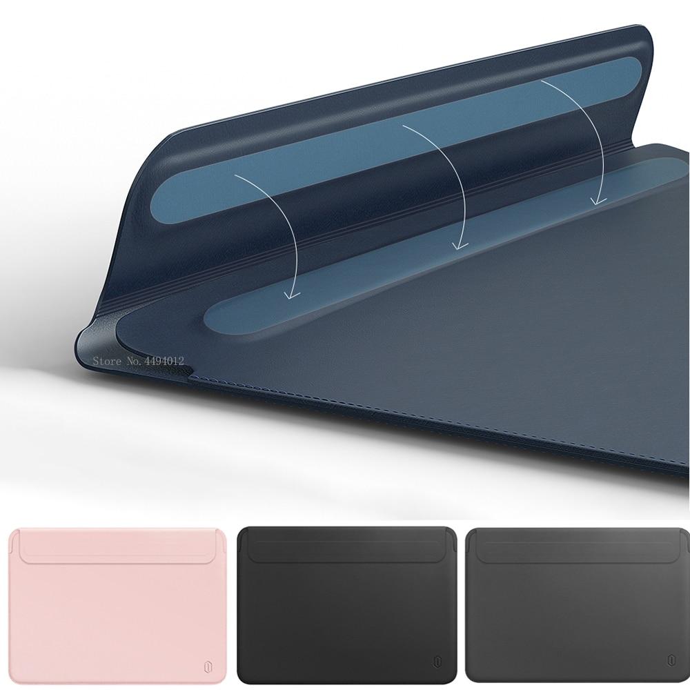 حافظة كمبيوتر محمول رفيعة للغاية ، حافظة لجهاز MacBook Air 13 A2337 ، مع معرف اللمس ، لجهاز MacBook Pro 13 M1 ، Pro 16 12 15 ، Matebook D 14