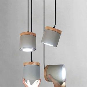Retro LED Hanging Light Nordic Industrial Restaurant Cafe Shop Pendant Light Kitchen Living Room Hallway Decor Simple Lamp