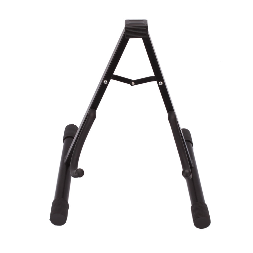 Glarry Professional Electric Guitar Stand Universal Folding Electric Acoustic Bass Stand A-Frame Musical Rack Holder Accessories enlarge