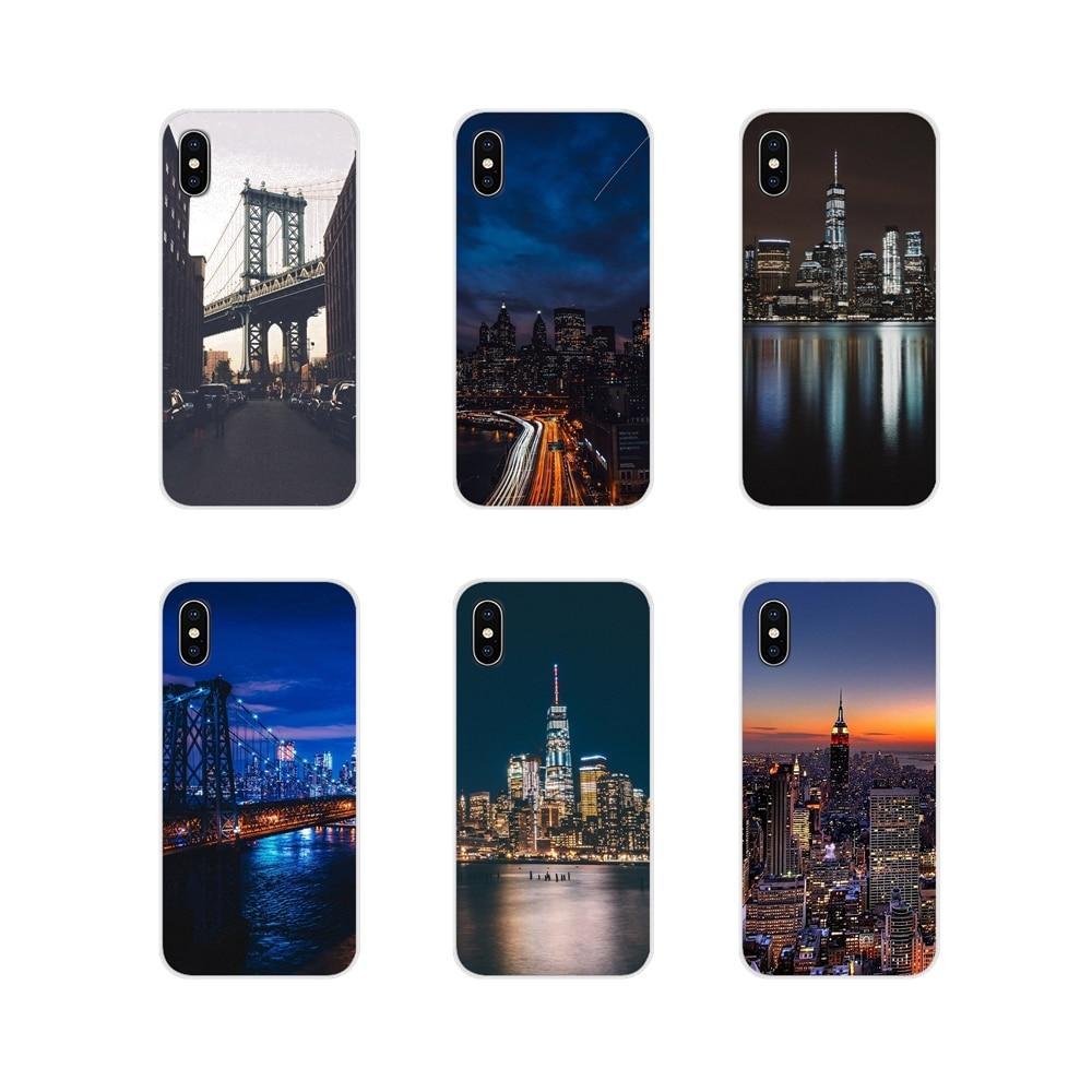 NYC-funda de teléfono para Samsung Galaxy S2 S3 S4 S5 Mini S7...