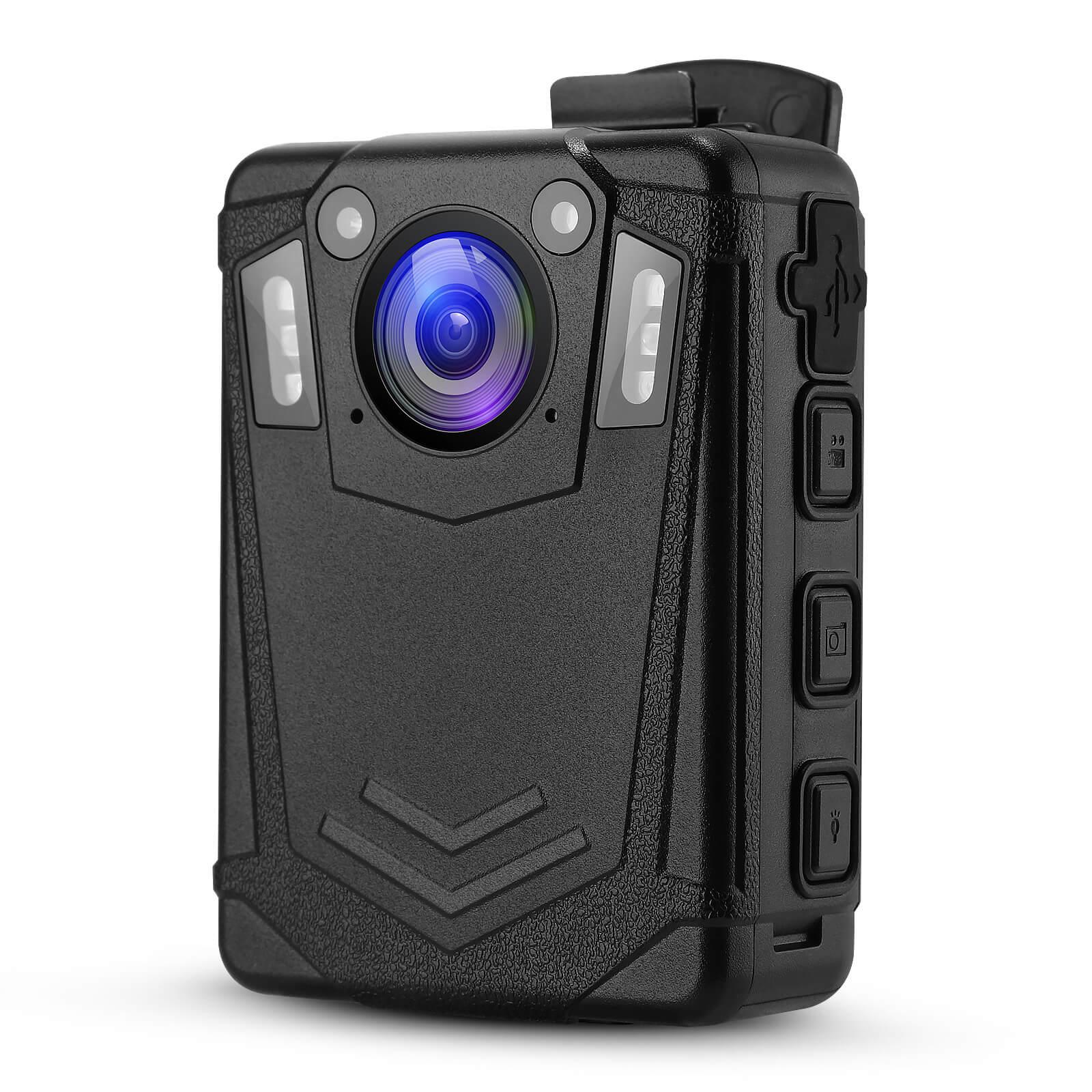 BOBLOV-Cámara de policía portátil DMT204 HD, 1080P, IP65, seguridad impermeable, Mini videocámaras