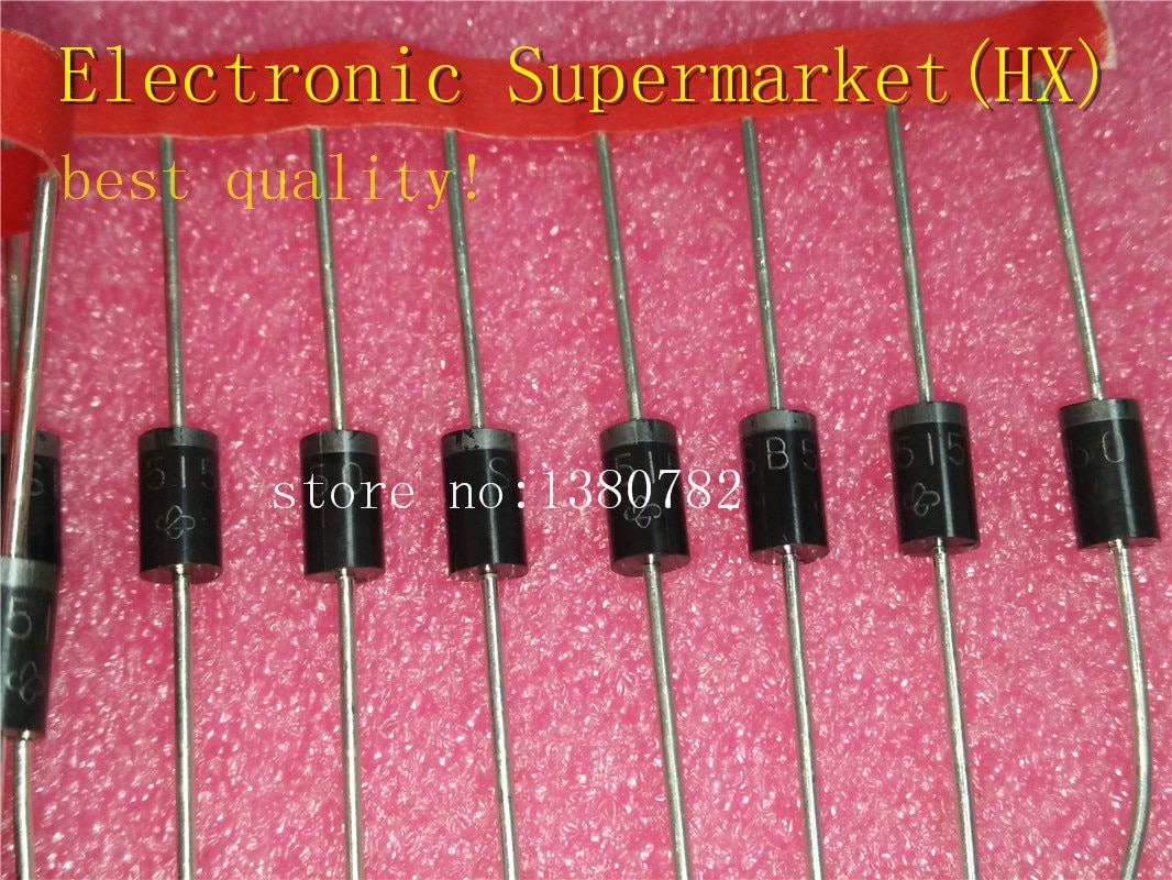 Free Shipping 500pcs/lots SB5150 SR5150 Schottky diode 5A 150V In stock! 10pcs sr5100 schottky diode