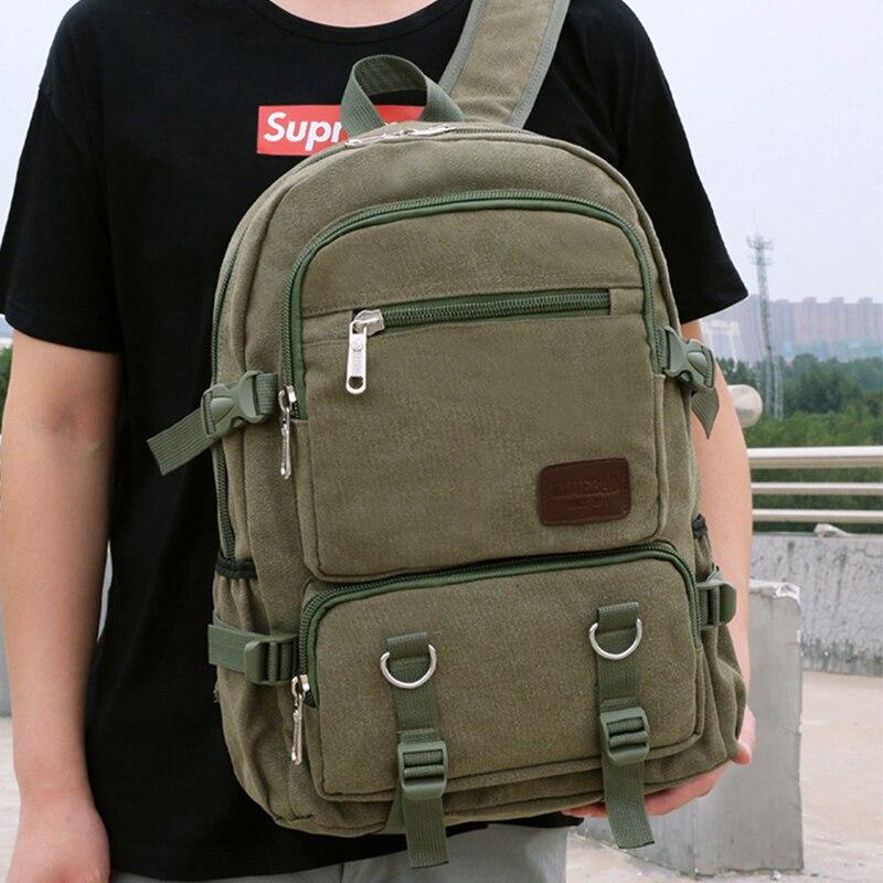 Chuwanglin Для мужчин женский рюкзак из парусины Многофункциональный рюкзак для ноутбука Рюкзаки Сумка для путешествий Mochila Винтаж рюкзаки для колледжа D90306 | АлиЭкспресс