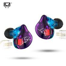 KZ ZST ZST Pro Metal 1BA + 1DD écouteurs intra-auriculaires technologie hybride détachable suppression du bruit écouteurs HiFi