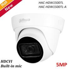 Dahua 5MP HDCVI IR caméra oculaire intégré micro intelligent IR 30m étanche IP67 HAC-HDW1500TL HAC-HDW1500TL-A DC12V