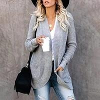 knitted cardigan women cardigan fall sweaters for women sweters for women office lady solid cardigans