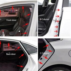 Image 3 - Резиновая уплотнительная лента L типа для автомобильной двери, двухслойные уплотнительные клейкие наклейки, автомобильные аксессуары для интерьера автомобиля