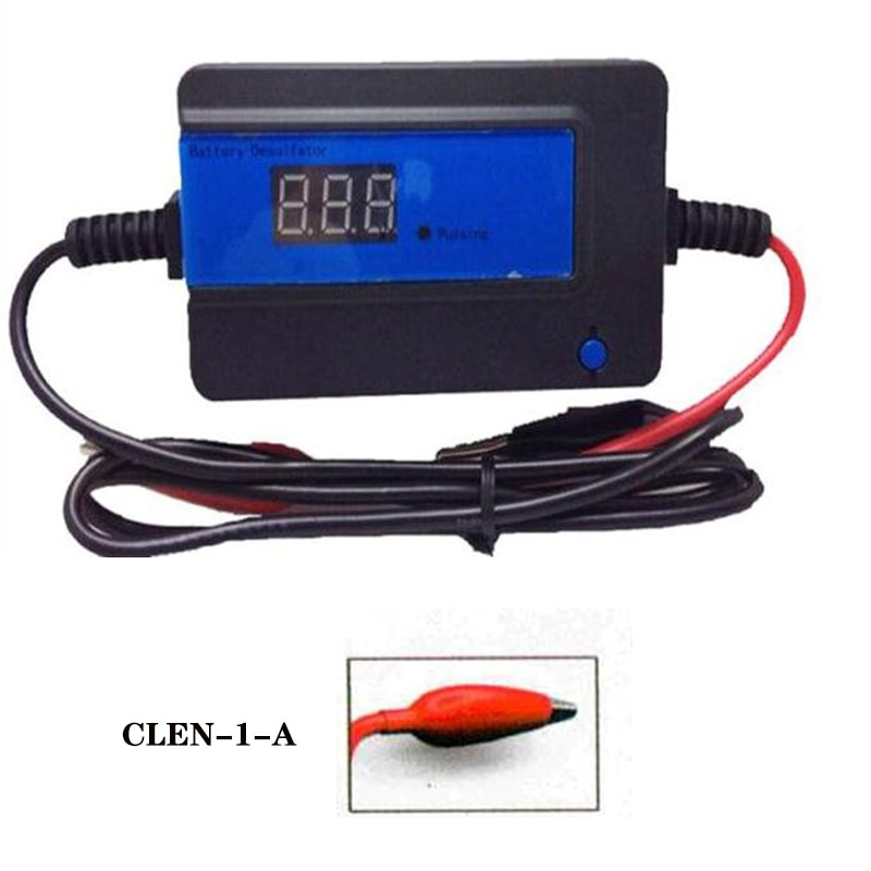 CLEN  2A 200AH  Lead Acid Blue Battery Desulfator (CLEN-1-A/ terminals clip )