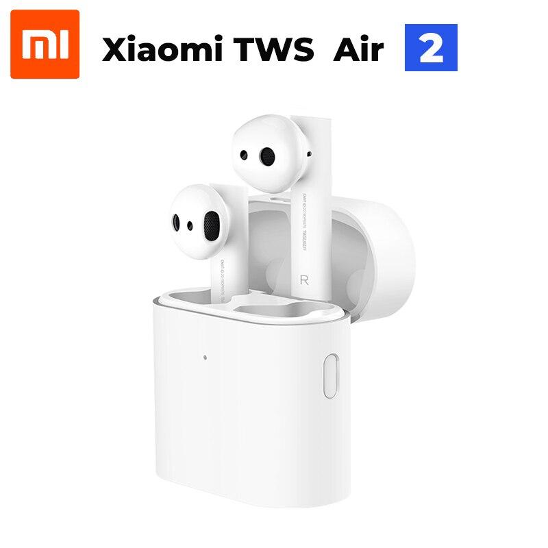 In Lager 2019 Neue Xiaomi Air 2 TWS Airdots Pro 2 Mi Wahre Drahtlose Kopfhörer 2 TWS Kopfhörer Air 2 LHDC Tap Control Dual MIC ENC