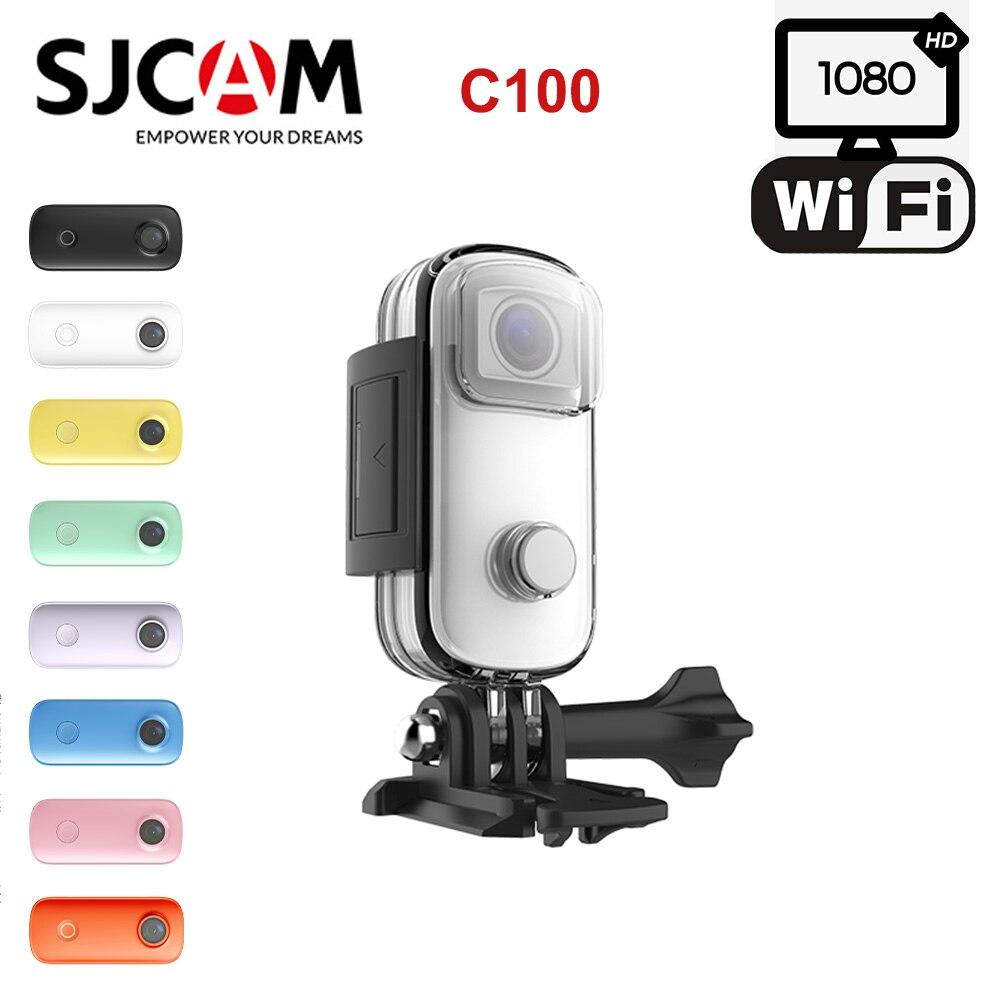 SJCAM C100 Mini Thumb Camera WiFi 1080P 30FPS Video Sport DV Action Camcorder Driving Recorder Cycling Swim Waterproof Webcam