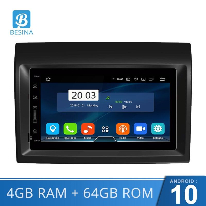 Besina Android 10 reproductor de DVD del coche para Fiat Ducato 2009, 2010, 2011, 2012, 2013, 2014, 2015 Citroën Jumper Peugeot Boxer Multimedia GPS