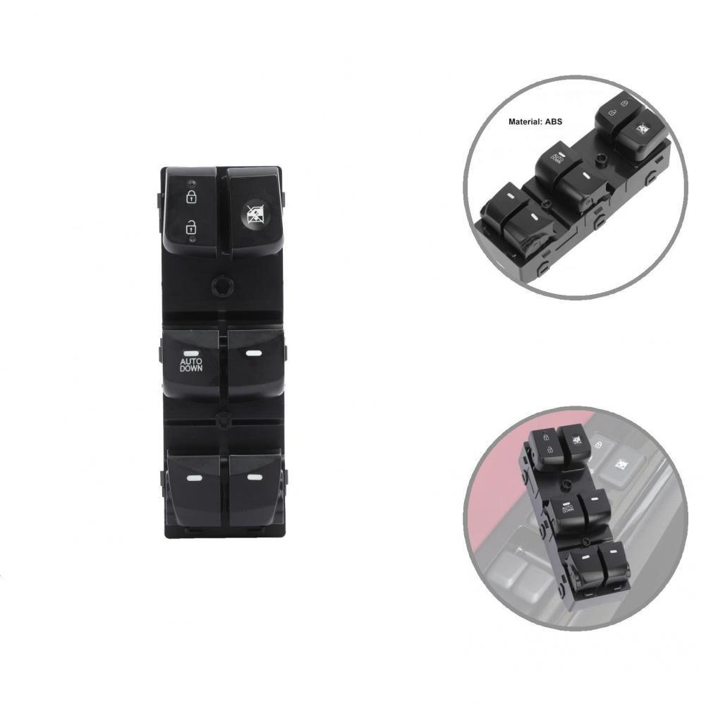 Легкий Прочный стабильный Электрический переключатель окна из АБС 93570-3X000 переключатель управления окном из АБС с защитой от царапин
