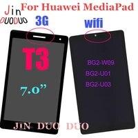 for huawei mediapad t3 7 0 wifi 3g lcd display touch screen digitizer assembly for bg2 w09 bg2 u01 bg2 u03