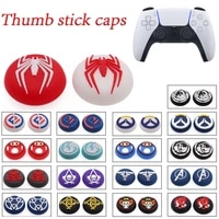 2pcs soft silicone thumb grip stick cap cover for ps5 ps4 pro ps3 xbox one 360 controller joystick cap accessories