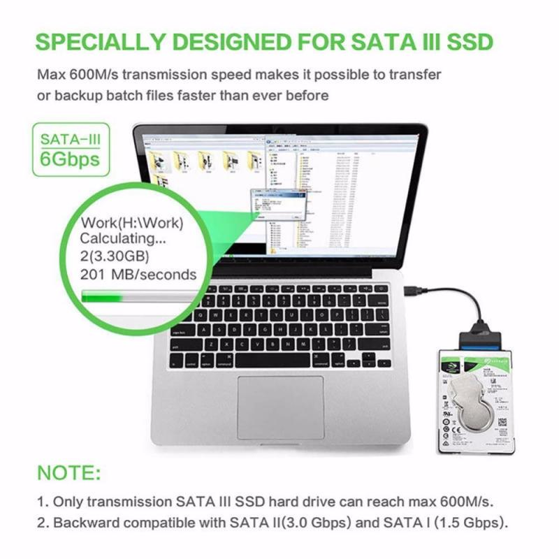 USB SATA3.0Cable Sata To USB 2.5Adapter UP To Support 2.5Inch External SSD HDD Hard Drive 22 Pin Sata III Computer Cables