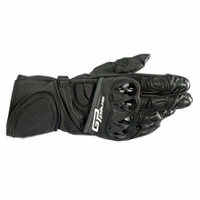 Free shipping 2020 Alpine GP Plus R Black Gloves Motorcycle Street Bike Riding Race Leather Mens