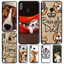 Beagle pies Puppy Pet etui do telefonu Huawei Honor 10 Lite 9 20 Pro 10i 9X 8X 7X V20 7A 8A 8C Nova 5T Y9 Y7 Y6 2019