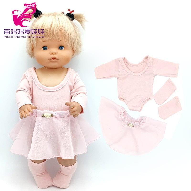 Nenuco-falda de Ballet rosa, Ropa Y Su hermana, vestido de muñeca Reborn,...