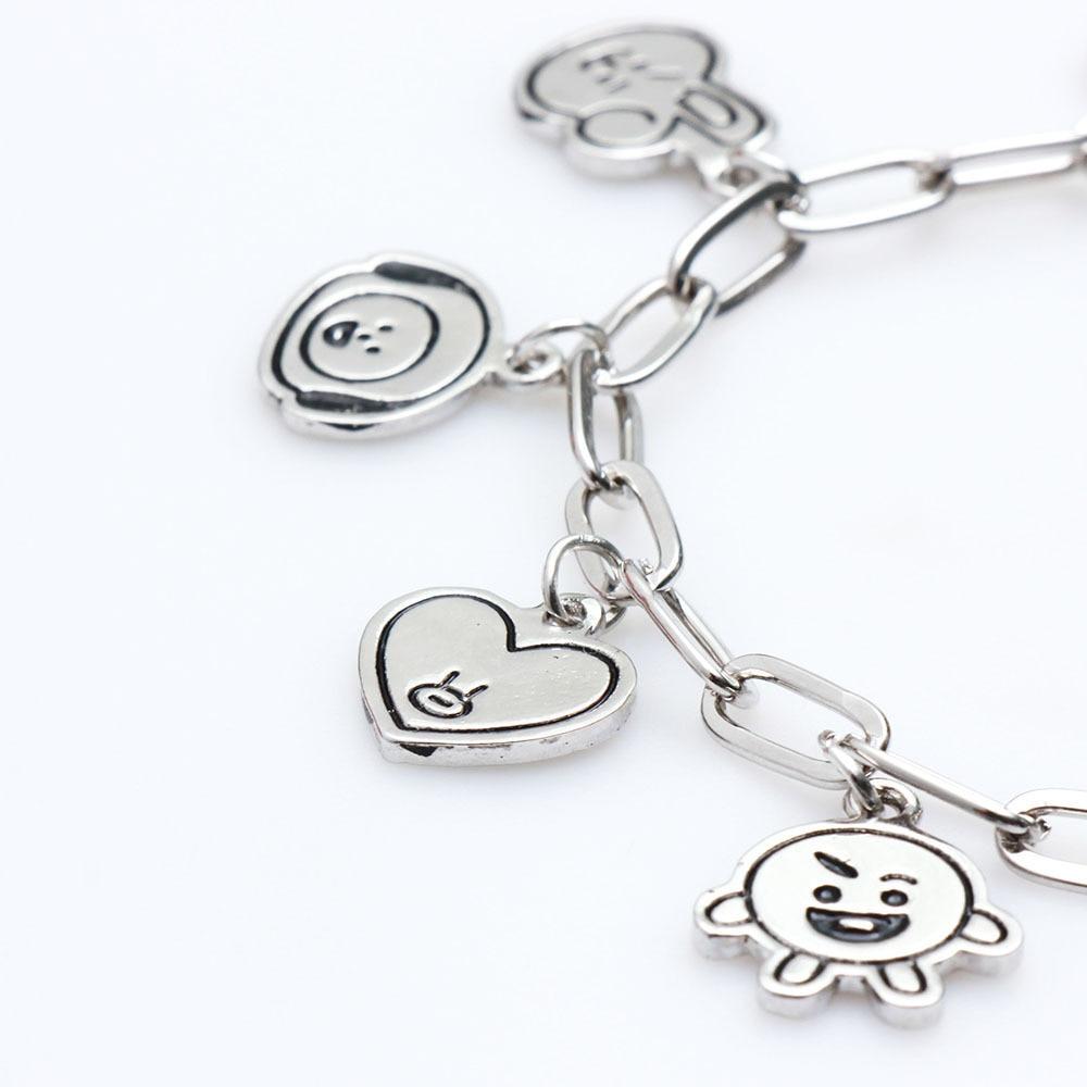 Charm Bracelets Jewelry Stainless Steel Animal Accessories Korean Bracelets for Women Couple Bracele
