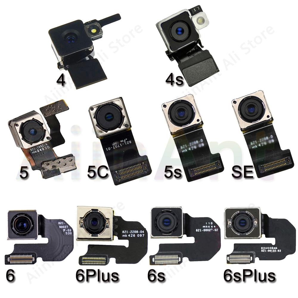 Original Main Rear Camera Flex For iPhone 6 6s Plus SE 5s 5 Back Camera Flex Cable Repair Phone Part