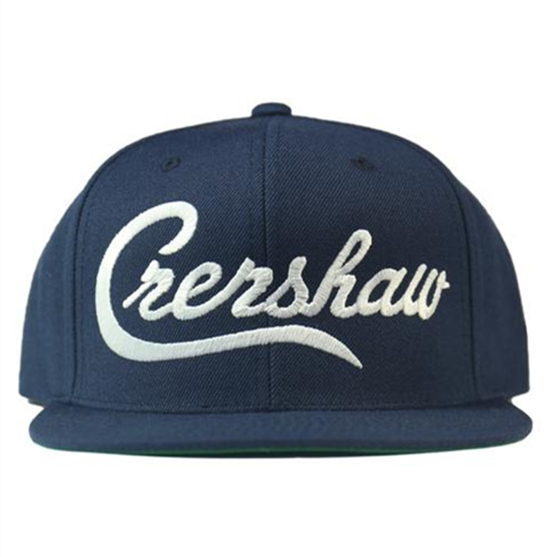 Gorra de algodón de alta calidad Nipsey Hussle Crenshaw Snapback, gorra de béisbol de alta calidad para hombres y mujeres, gorra de algodón de Hip Hop