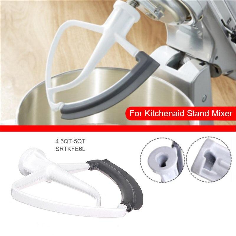 TTLIFE inclinación cabeza Flex borde a 4.5-5QT (5L) para KitchenAid batidora de KFE6L inclinación cabeza amasadoras con base de cocina profesional herramienta Accesorios