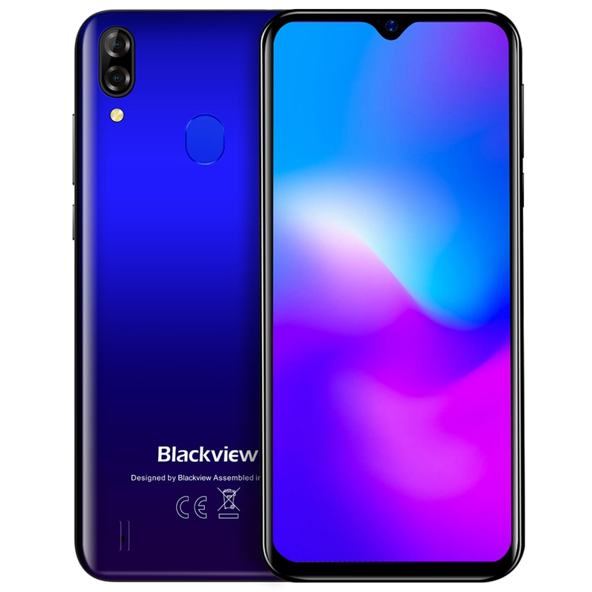 Смартфон Blackview A60 Plus на Android 10, четыре ядра, экран 4080 дюйма, 4 Гб + 64 ГБ