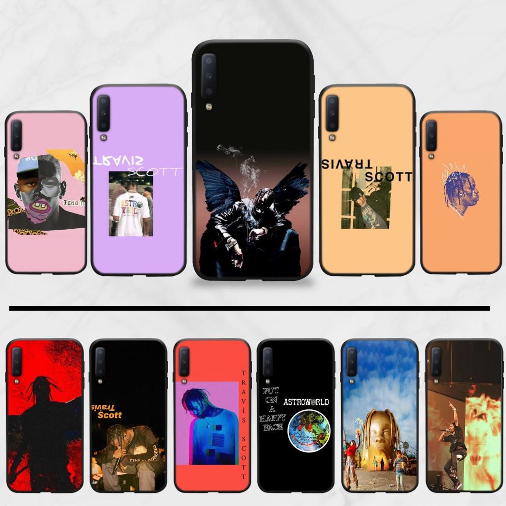 Rocky Balboa rapero Trippie redd cubierta de la caja del teléfono para Samsung A20 A30 30s A40 A7 2018 J2 J7 primer J4 más S5 Nota 9 10 Plus