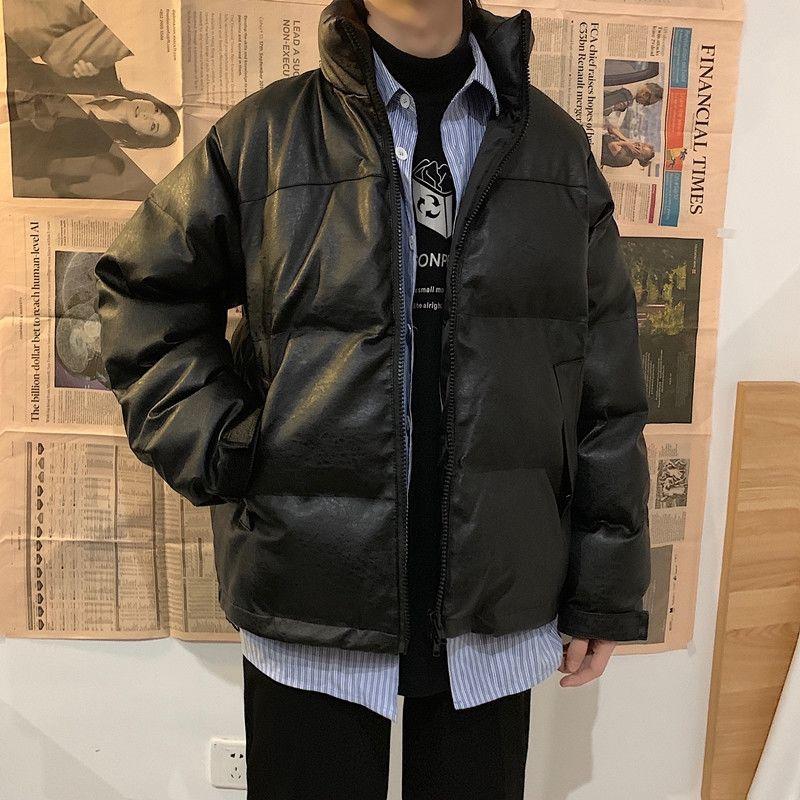 Мужская куртка, зимняя, осенняя, однотонная куртка на молнии, верхняя одежда, мужская утепленная куртка-бомбер с подкладкой, мужские парки, в...
