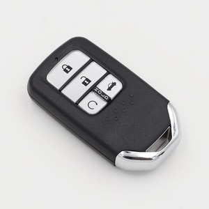 Пульт дистанционного управления для автомобиля Honda Civic 10, 4 кнопки, 433 МГц, с чипом ID47 после 2015 года